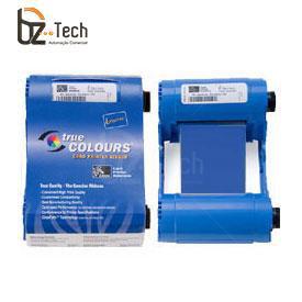 Ribbon Original Zebra Azul para Impressora P110i e P120i - 1000 Impressões