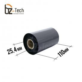 Ribbon Zebra Cera 110mm x 300m - Impressoras GT800t e ZT220