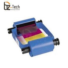 Ribbon Original Zebra Colorido para Impressora P330i - YMCKO 450 Impressões
