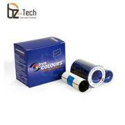 Ribbon Zebra Colorido para Impressora P630i e P640i - YMCvK 500 Impressões