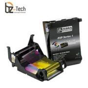 Ribbon Zebra Colorido para Impressora ZXP Series 1 - YMCKO 100 Impressões
