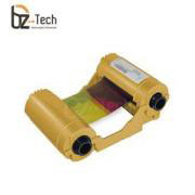 Ribbon Zebra Colorido para Impressora ZXP Series 3 - YMCKOK 165 Impressões