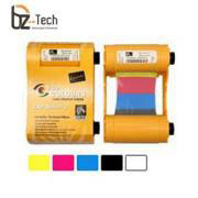 Ribbon Zebra Colorido para Impressora ZXP Series 3 - YMCKO 200 Impressões