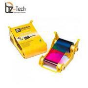 Ribbon Zebra Colorido para Impressora ZXP Series 3 - YMCKO 280 Impressões