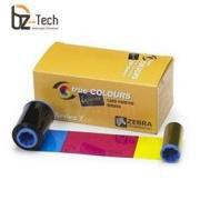 Ribbon Zebra Colorido para Impressora ZXP Series 7 - YMCKO 750 Impressões