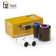 Ribbon Zebra Colorido para Impressora ZXP Series 7 - YMCKOK 750 Impressões