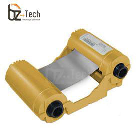 Ribbon Zebra Prata para Impressora ZXP Series 3 - 1000 Impressões