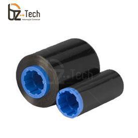 Ribbon Zebra Preto para Impressora P330i, P430i, P310i, P320i, P420i - 1000 Impressões